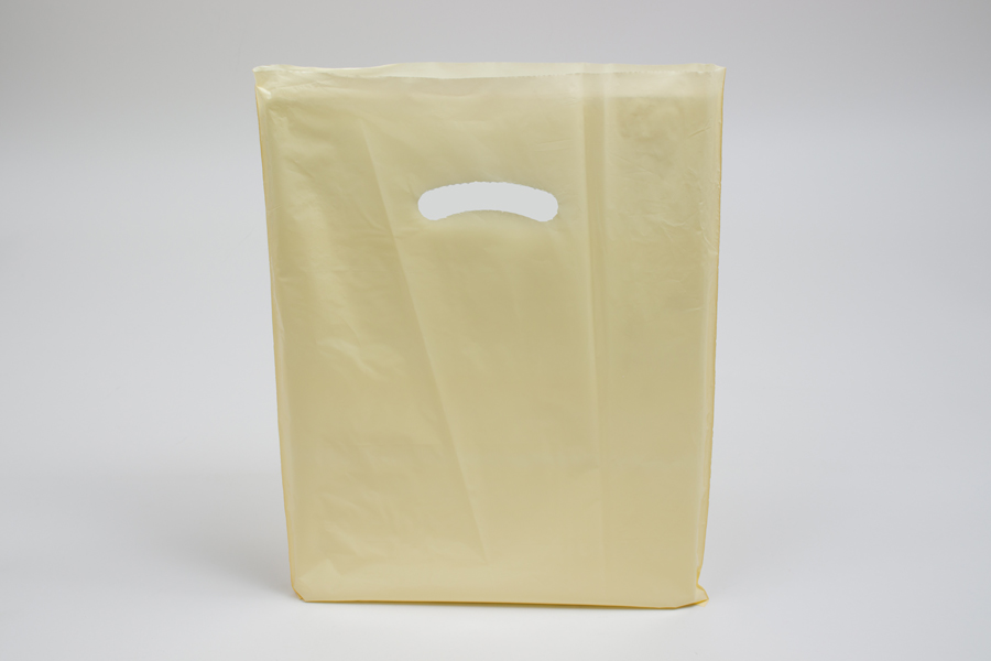 12 x 15 IVORY SUPER GLOSS PLASTIC BAGS ***LIMITED AVAILABILITY***