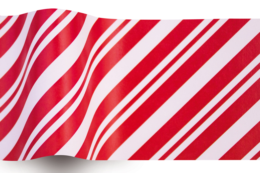 20X30 TISSUE PEPPERMINT STRIPE