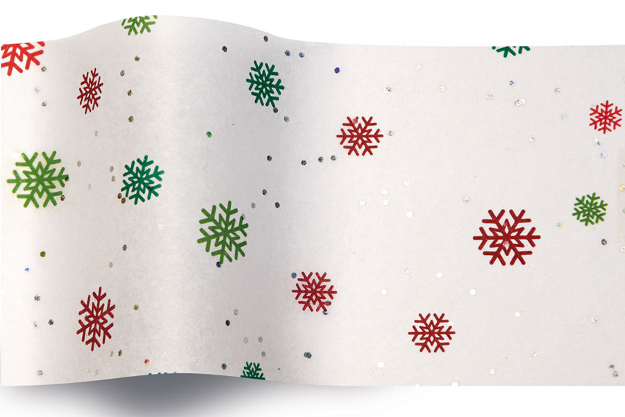20 x 30 JUST SNOWFLAKES TISSUE PAPER