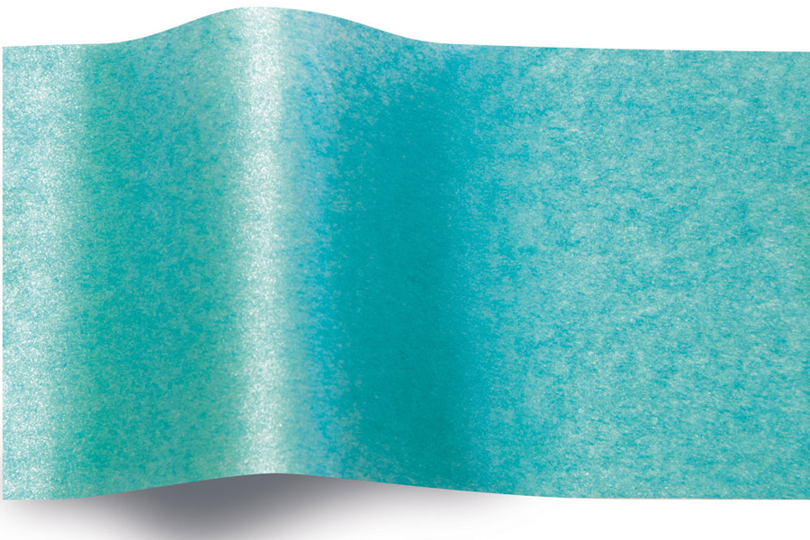 20 x 30 BRIGHT TURQUOISE PEARLESENCE TISSUE PAPER