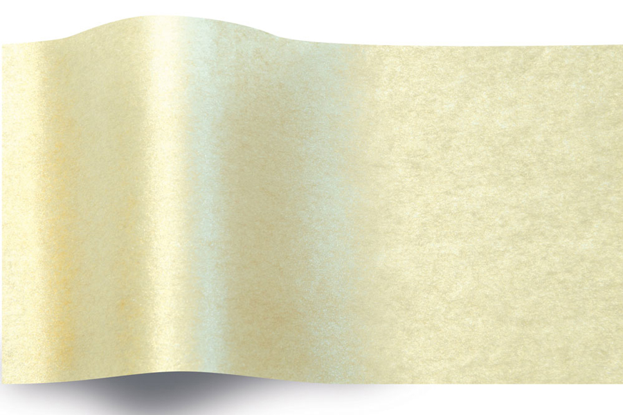 20 x 30 CHAMPAGNE TWO-SIDED PEARLESENCE TISSUE PAPER