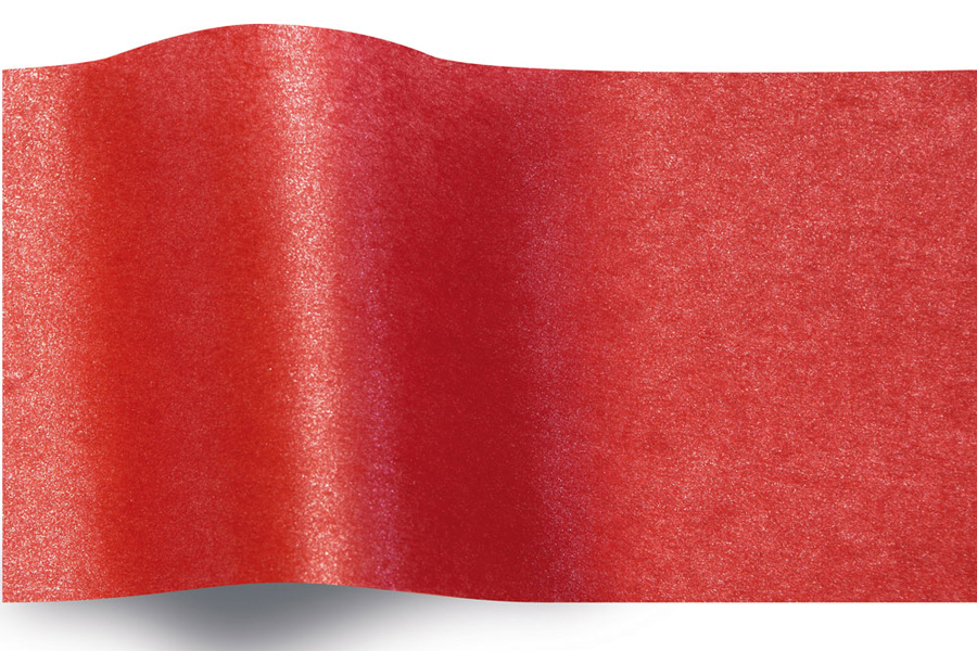 20 x 30 SCARLET PEARLESENCE TISSUE PAPER