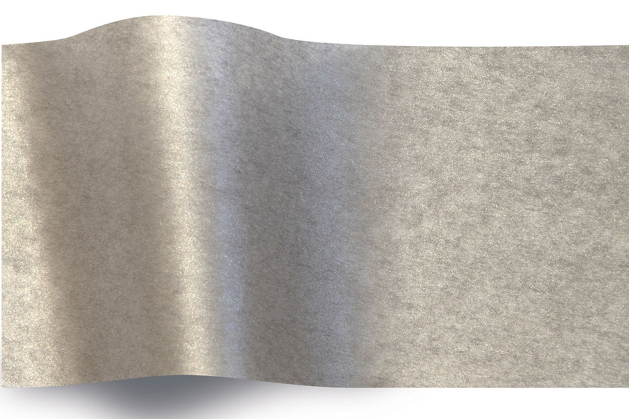 20 x 30 PEWTER TWO-SIDED PEARLESENCE TISSUE PAPER