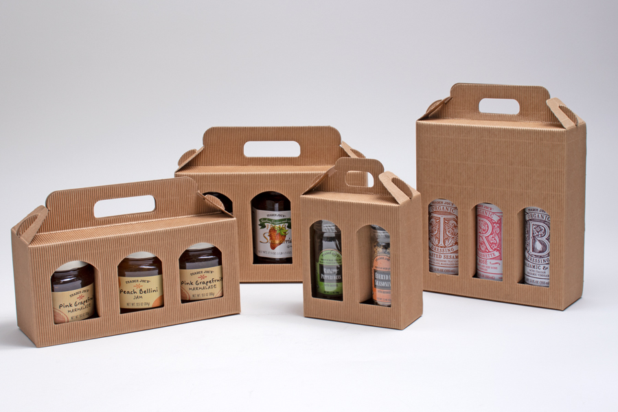 Jar & Bottle Boxes and Carriers
