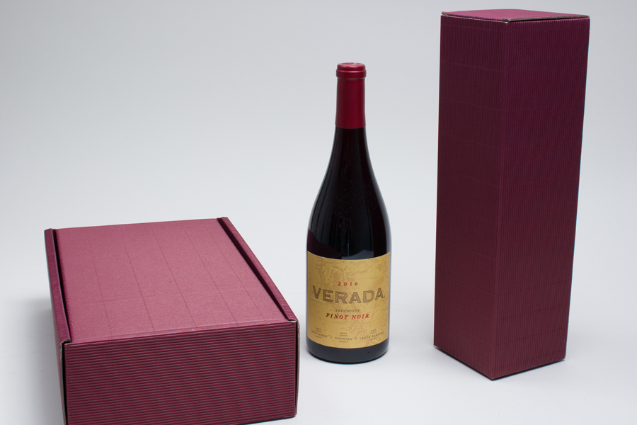 MC - Wine Packaging - Bordeaux Ribbed
