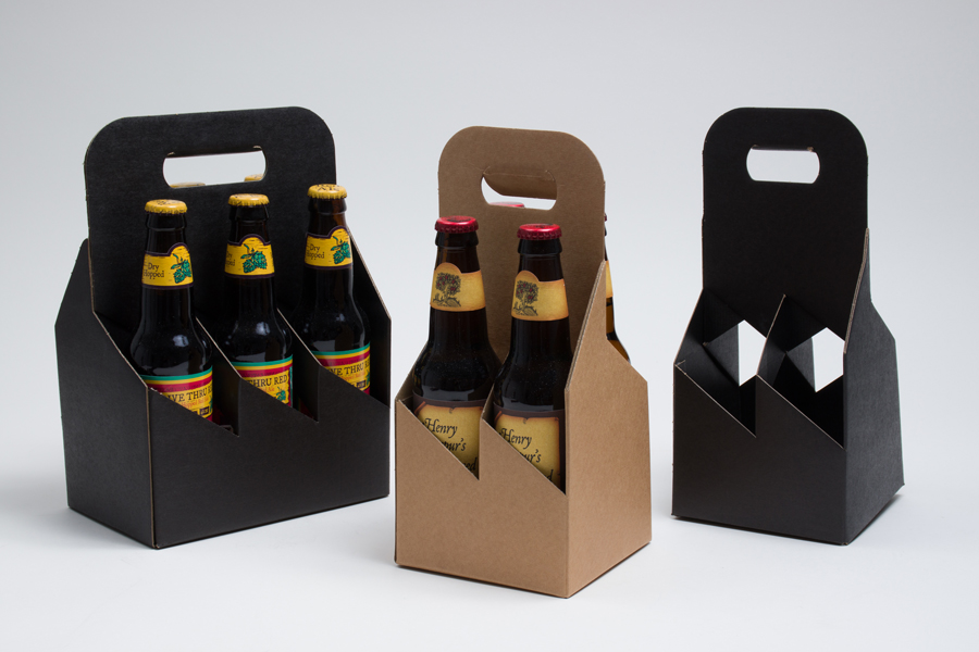 Open Style Wine & Beer Bottle Carriers