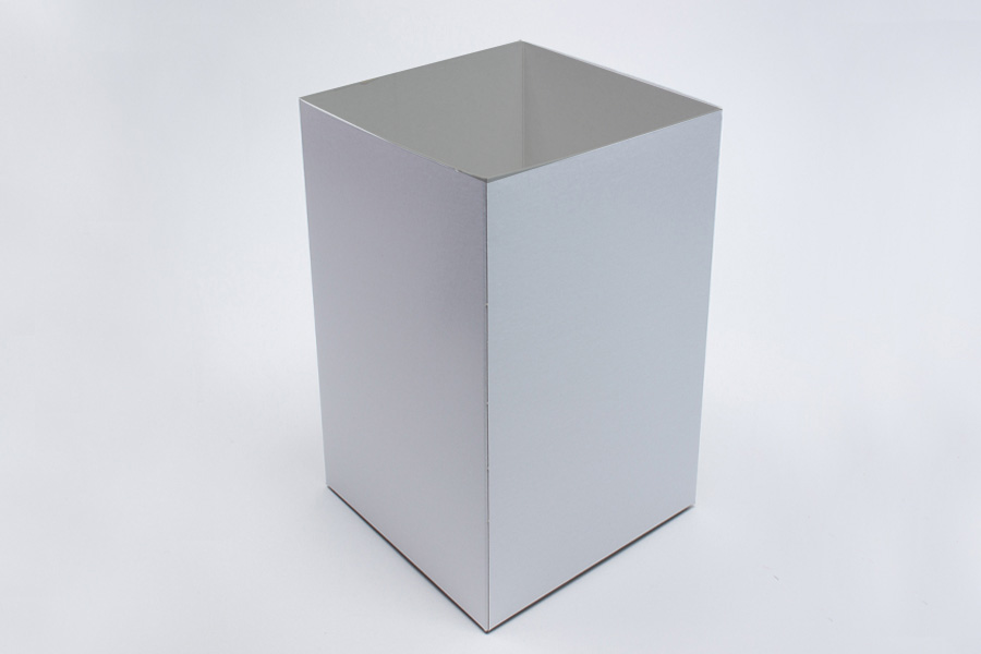 8 x 8 x 12 WHITE GLOSS HI-WALL GIFT BOX BASES *LIDS SOLD SEPARATELY*
