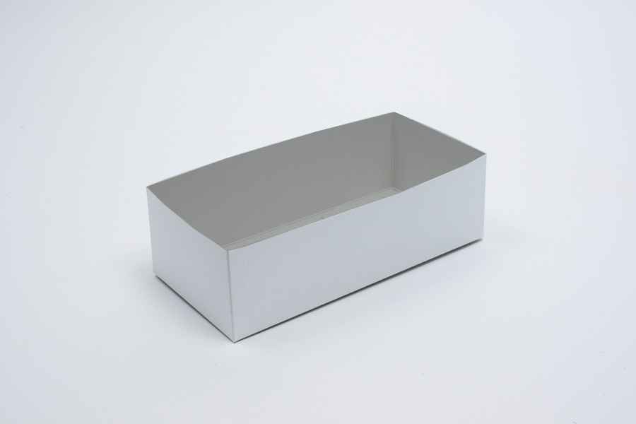 13 x 8 x 3 WHITE GLOSS HI-WALL GIFT BOX BASES *LIDS SOLD SEPARATELY*