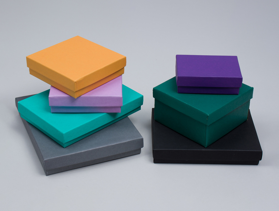 Jewelry Boxes - Matte Colors