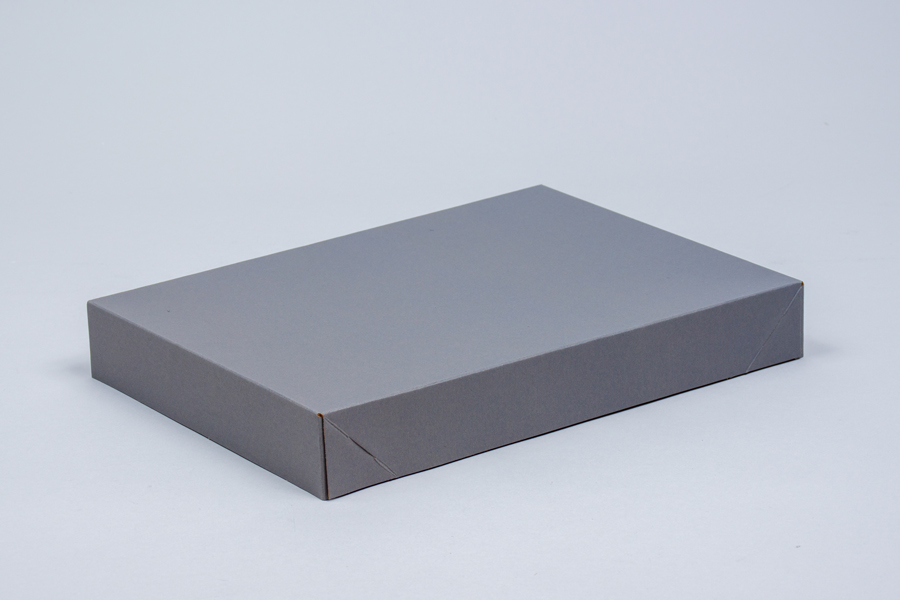 15 x 9.5 x 2 SLATE GRAY APPAREL BOX