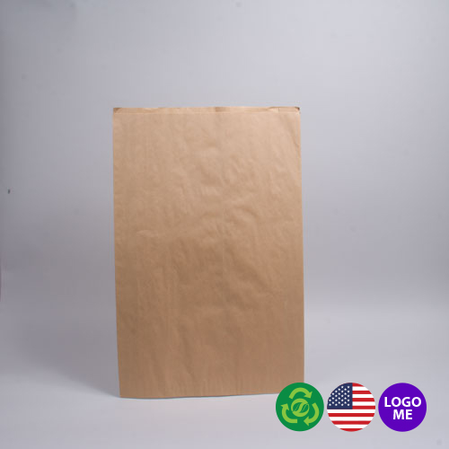 16 x 3.75 x 24 NATURAL KRAFT PAPER MERCHANDISE BAGS