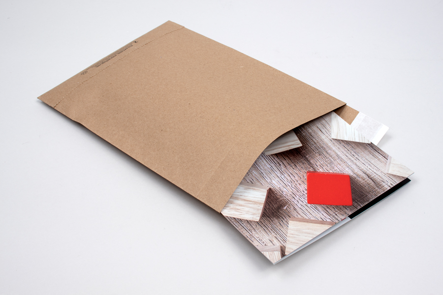8-3/4 X 12 (#2) ECO-NATURAL PAPER SHIPPING BAGS