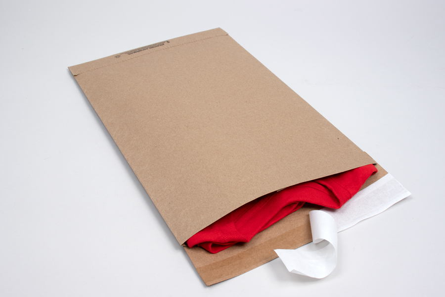 10-1/2 X 16 (#5) ECO-NATURAL PAPER SHIPPING BAGS