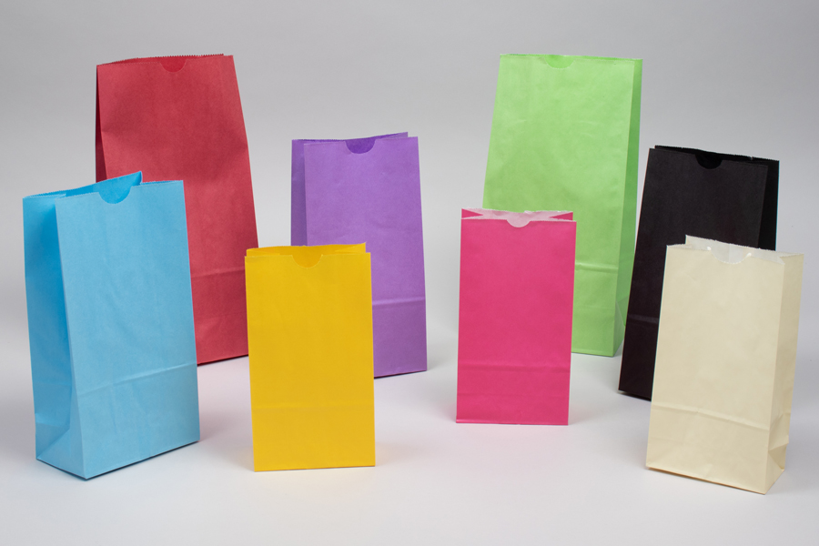 Paper SOS Grocery Bags - Colors