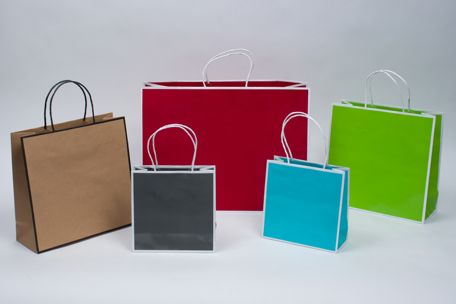 MC - Paper Shopping Bags - Sophie Shopping Bags