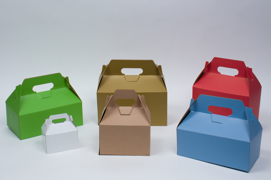 MC - Paper Boxes - Gable Boxes