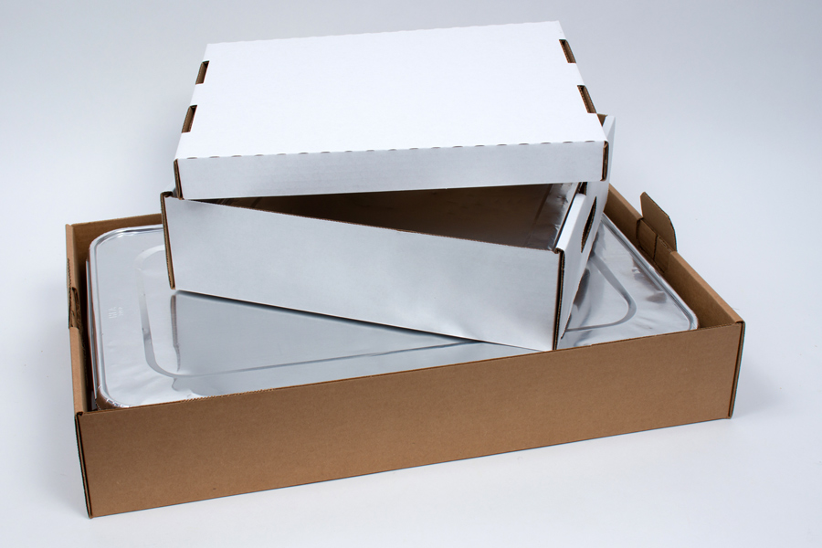 MC - Paper Boxes - Catering - Handled Catering Boxes and Lids
