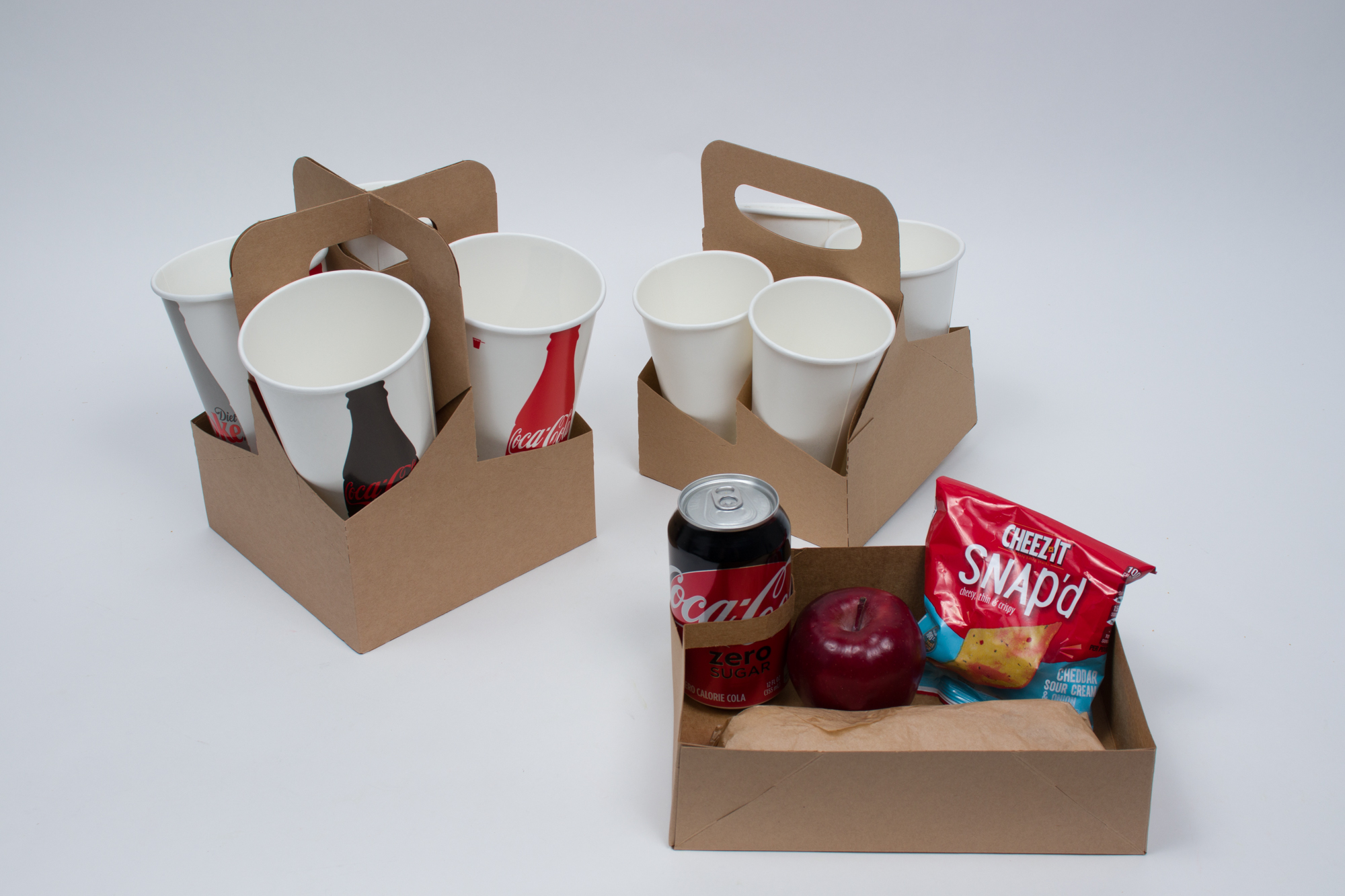 MC - Paper Boxes - Catering - Cup Carriers and Trays