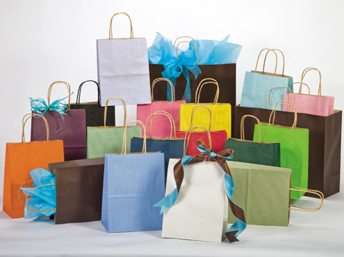 Paper Shopping Bags and Eurototes