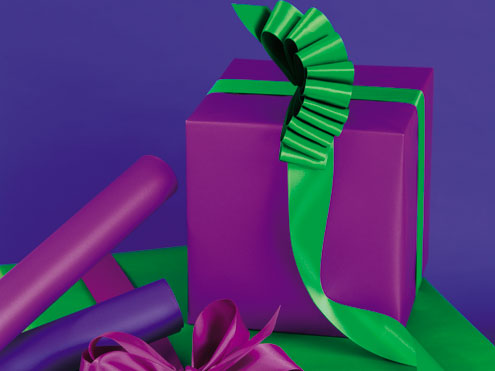 Special Finishes & Solids Gift Wrap
