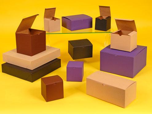Color Tinted Natural Kraft Giftware Boxes & Color Tinted Natural Kraft Gift Boxes Aboutintivar.Com