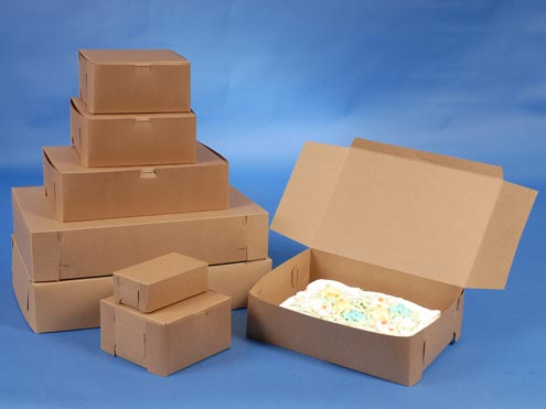 Natural Kraft Bakery Boxes