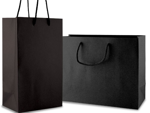 Eurotote Shopping Bags – Textured Paper, Matte Finish