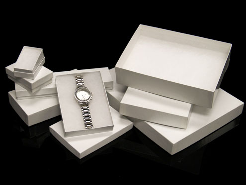 MC - Paper Boxes - Jewelry - White Gloss