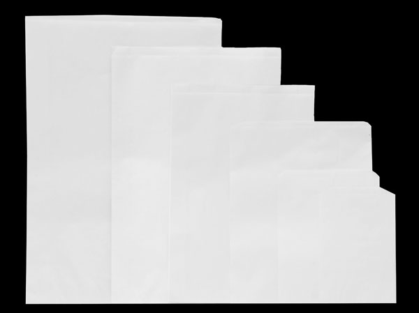 MC - Paper Bags - Merchandise - White Kraft