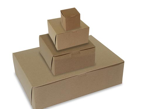 MC - Paper Boxes - Bakery - Cup Cake Boxes - Kraft