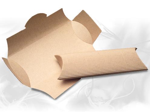 Wholesale Paper Boxes - Corrugated Pillow Boxes