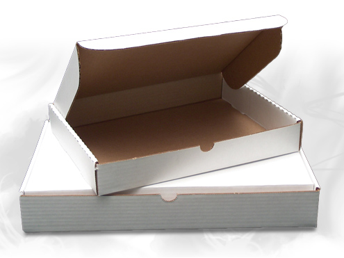 E Commerce Packaging White Tuck Top Mailing Boxes