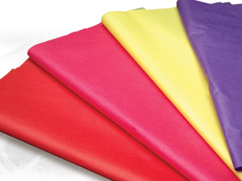 Satin Wrap Solid Color Tissue Paper Sheets