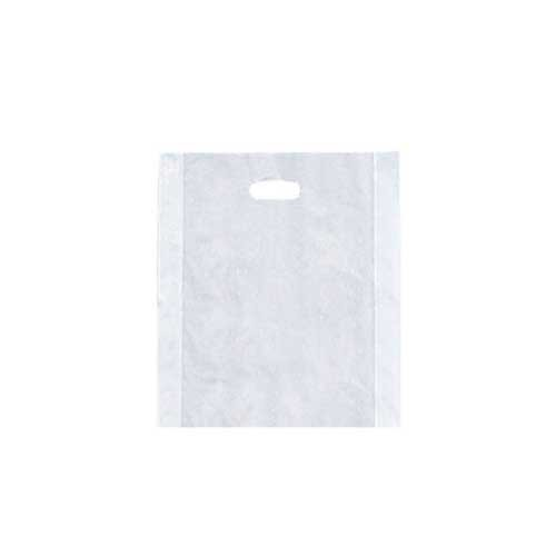 9 x 12 CLEAR FROSTED PLASTIC MERCHANDISE BAGS