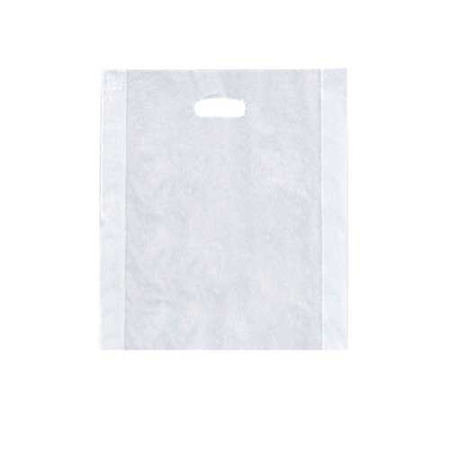 12 x 15 CLEAR FROSTED PLASTIC MERCHANDISE BAGS