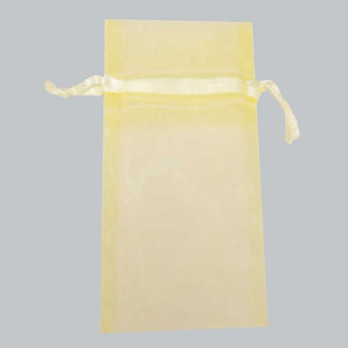 6 x 14 BABY MAIZE SHEER ORGANZA POUCHES