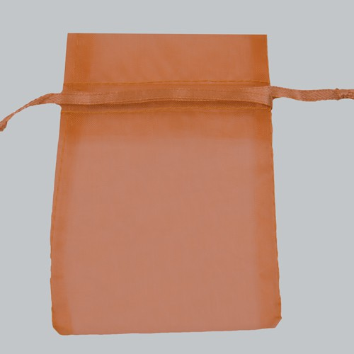 4 x 5 COPPER SHEER ORGANZA POUCHES