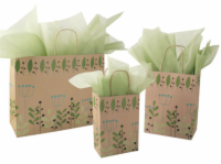Leaves Berries Paper Shopping Bags