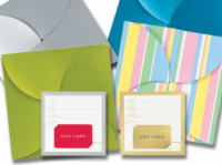 Pinwheel Gift Card Folders