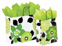 Bold Floral Paper Shopping Bags