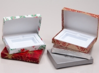 Gift Card Boxes With Plastic Insert - Holiday Designs